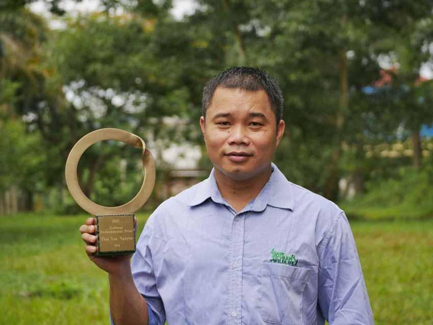 'Nobel xanh' Goldman 2021 Nguyễn Văn Thái: Nặng lòng với bảo tồn thiên nhiên - 4
